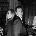 trumpeter Ellie and organist Richard