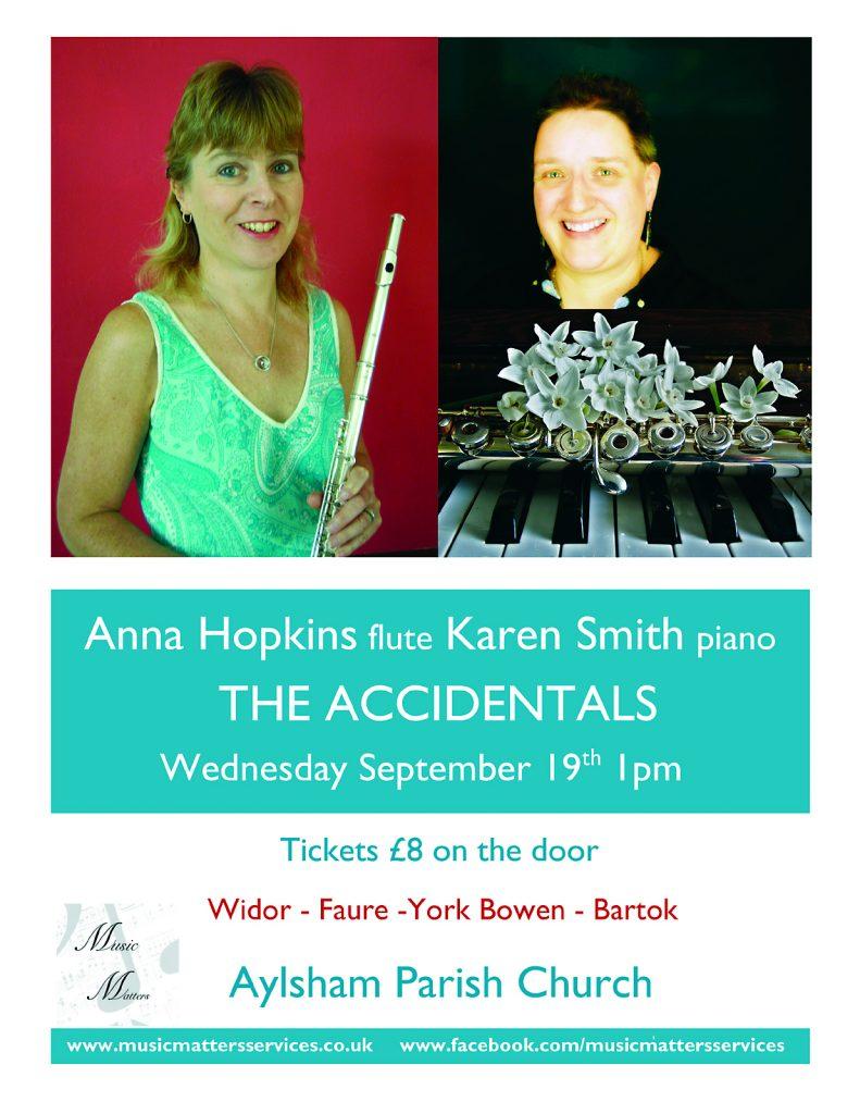 flyer for concert